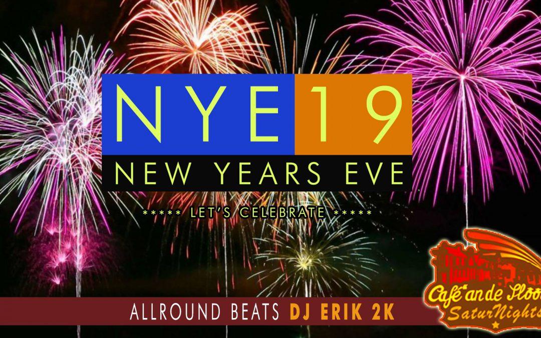 New Years Eve met dj Erik 2K
